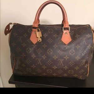 Louis Vuitton Speedy 30 Bag (Vintage)